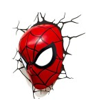 LAMPARA LED 3D PARED SPIDERMAN MARVEL