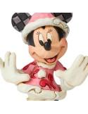Figura Minnie Christmas Disney - 12 cm