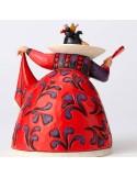 Figura Alicia en el País de las Maravillas Reina de Corazones - 18 cm