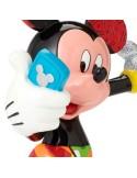 Figura Mickey Mouse Selfie Romero Britto Disney - 21 cm