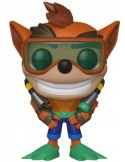 FIGURA POP CRASH BANDICOOT CRASH WITH SCUBA
