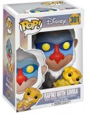 FIGURA POP RAFIKI WITH SIMBA - DISNEY