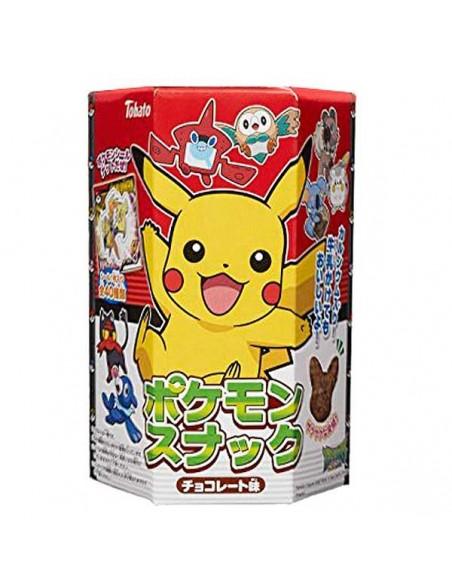 Pikachu sabor chocolate snack maíz inflado