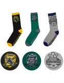 HARRY POTTER PACK DE 3 PARES DE CALCETINES QUIDDITCH HOGWARTS