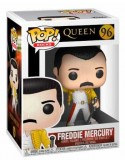 QUEEN POP! ROCKS VINYL FIGURA FREDDIE MERCURY WEMBLEY 1986 9CM