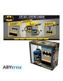 "DC COMICS - PACK TAZA 320ML + LLAVERO + LIBRETA ""BATMAN"""