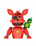 FIVE NIGHTS AT FREDDY'S PIZZA SIMULATOR FIGURA ROCKSTAR FOXY 13CM