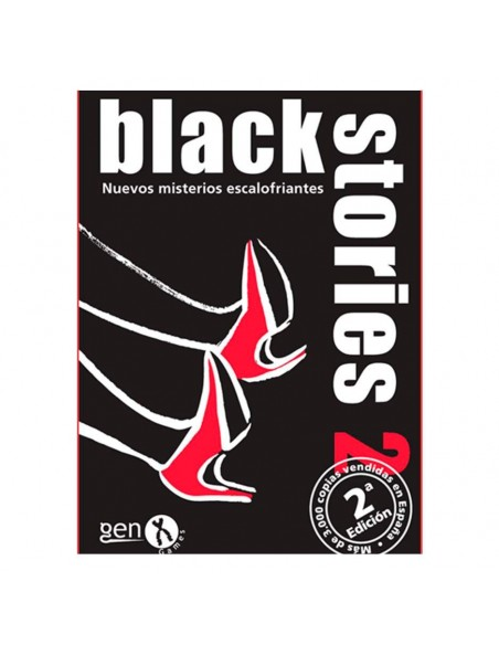 JUEGO DE CARTAS BLACK STORIES 2