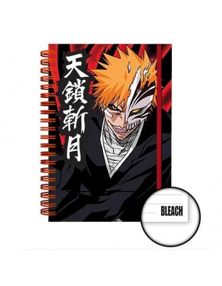 Libreta A5 Ichigo con máscara de Hollow - Bleach