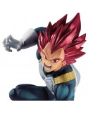 FIGURA BLOOD OF SAIYANS (SPECIAL VII) SUPER SAIYAN GOD VEGETA - DRAGON BALL SUPER - 20 CM