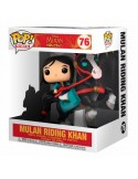 Funko POP! Mulan riding Khan - Mulan