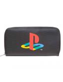 Monedero retro logo Playstation