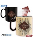 Taza Termosensitiva Mapa del Merodeador - Harry Potter