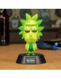 Mini lámpara 3D Toxic Rick - Rick y Morty