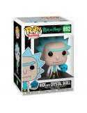 Funko POP! Rick con calavera de cristal - Rick y Morty