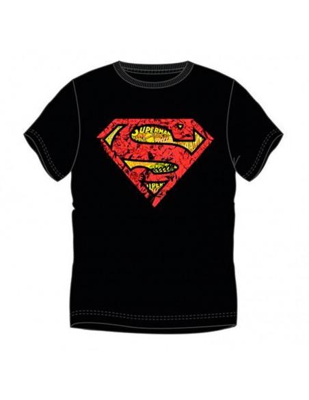 Camiseta logo Superman cómic