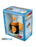 Pack vaso 29 cl + chupito + minitaza Dragon Ball
