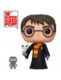Funko POP! Harry con Hedwig super sized - 46 cm