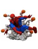 Diorama Spiderman pumkin bombs - marvel gallery