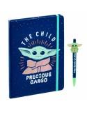 Cuaderno + Bolígrafo Yoda The Child Mandalorian - Star Wars